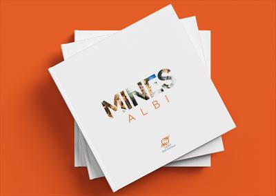 Couverture d'un livre pour l'École des Mines d'Albi