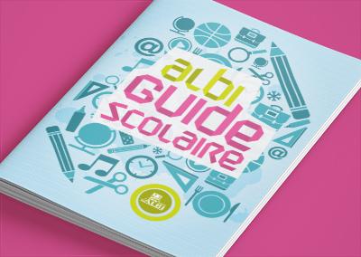 Couverture du guide scolaire de la ville d'Albi