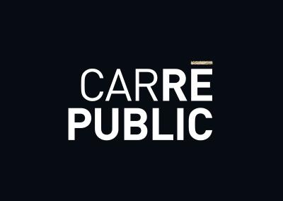 Logotype du Carré Public