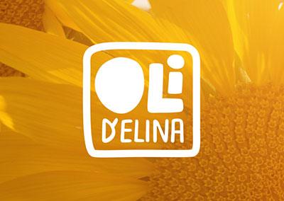 Logo de la marque d'huiles alimentaires tarnaise Oli d'Elina