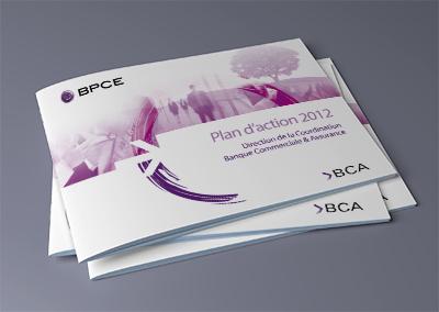 Couverture du plan d'action du groupe BPCE