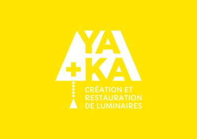 Logo de Ya+Ka, créateur et restaurateur de luminaires dans le Tarn